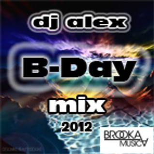 dj alex (brooka musica) B-Day MIX