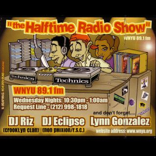 The Halftime Show w/DJ Riz & DJ Eclipse 89.1 WNYU March 4, 1998 (1st Show)