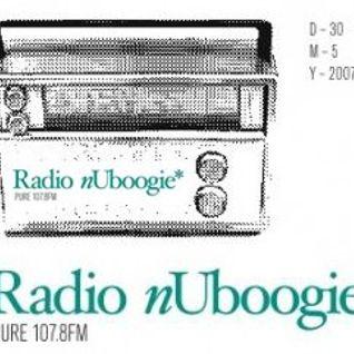 Radio nUboogie Guest Mix (June 2007)