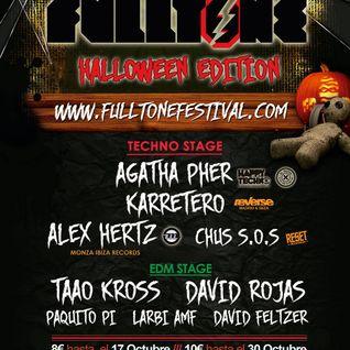 CHUS S.O.S - FULLTONE HALLOWEEN FESTIVAL 2014