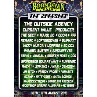 The Bodyshop Mix (Boomtown 2013)