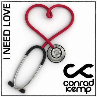 Conrad Kemp - I Need Love (white cover)