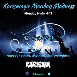 Karisma Presents... The Monday Takeover On No Grief Fm (Part 1)  26/9/2016