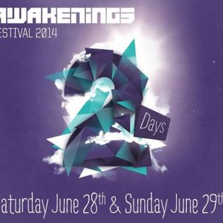 Secret Cinema & Egbert - Live @ Awakenings Festival 2014 - 29.06.2014