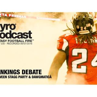 Rankings Debate between Stagg Party and Dawgmatica - Show 230