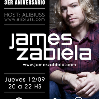 Undergroove Radio Show 3rd Anniversary- w/guest JAMES ZABIELA (Sept 2013)