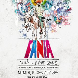 All Vinyl Fania Salsa Gorda Mix Live at Fania Armada (Art Basel)