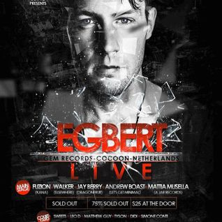 Egbert - live at The Met, Coco Room - 6th Feb 2015