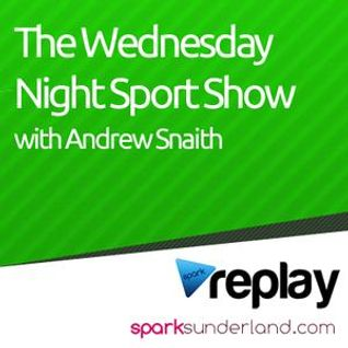 2/1/13- 8pm- The Wednesday Night Sport Show with Andrew Snaith