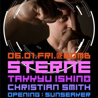 Christian Smith - Live at Sterne, Womb,Tokyo (01-06-2012)