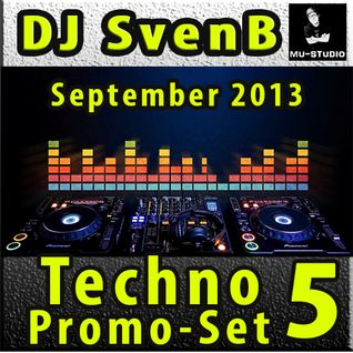DJ SvenB - Techno Promo Set 5 September 2013