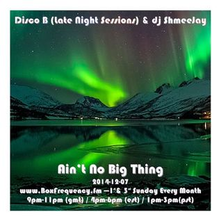 Disco B (Late Night Sessions) & dj ShmeeJay - Ain't No Big Thing  -2014-12-07