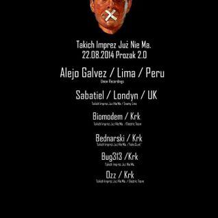 Alejo Galvez Live @ Prozak Klub (Poland) 22.8.14