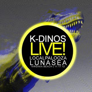 K-DİΝΟS ― LIVE at Lunasea 11.17.12 (Teaser Clip)