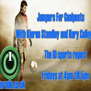 Jumpers for Goalposts with Kieren Standley, Harry Colley and Tom Mortlock on IO Radio 080515