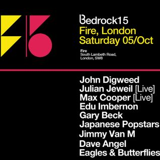 2013-10-05 - Eagles & Butterflies @ Bedrock15, Fire, London