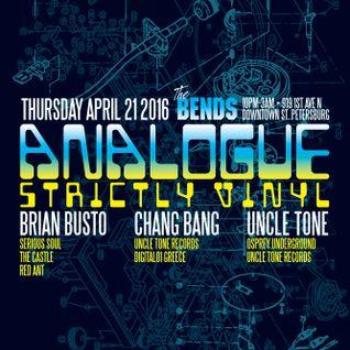 Live at Analogue 4.22.2016 chang bang at The Bends!