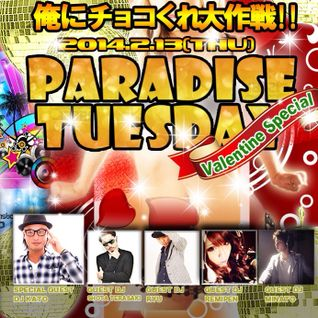 PARADISE TUESDAY MIX (2014.02.11 TOP40 EDM MIX)