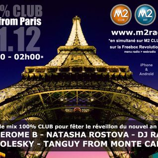 Happy New Year 2014 on M2 Radio with Tanguy from Monte Carlo, Dj Raxx, Dj Kolesky & Natasha Rostova
