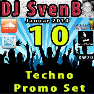 DJ SvenB - Techno Promo Set 10 (2014)