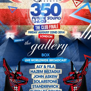 Ruben de Ronde - Live @ FSOE 350, The Gallery at Ministry of Sound (London) - 22.08.2014