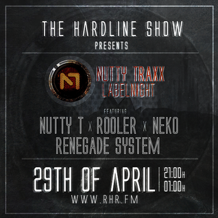 Rooler @ The Hardline Show (Nutty Traxx Label Night) (29-04-15)