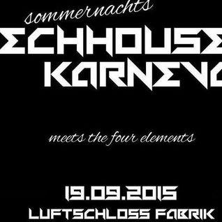 Der Sperling - In The Mix @ Tech-House-Karneval - Luft-Schloss-Fabrik FL - 19.09.2015