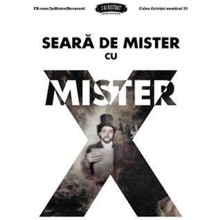 SEARA DE MISTER - spicuire de la prima editie (15 ianuarie 2016, J'ai Bistrot Bucuresti)