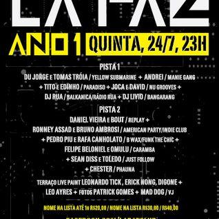 BOUT - live @ LA PAZ ano 1