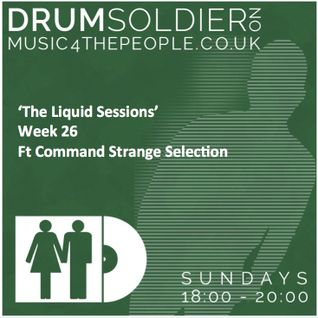 Liquid Sessions 26 (ft  Command Strange selection)