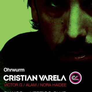 Ohrwurm pres. Alam (warmup for Cristian Varela) @ Vertigo KL - 09 Nov 2013