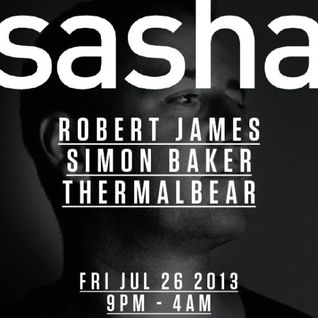 Sasha - Live at Village Underground, London, UK (26-07-2013)