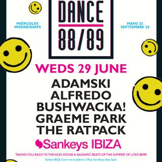 This Is Graeme Park: Dance 88/89 @ Sankeys Ibiza 29JUN16 Live DJ Set