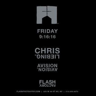 Chris Liebing @ Flash Factory - New York - 16-09-2016