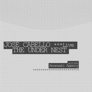 Jose Cabello (Live) @ The Under Nest 18072015