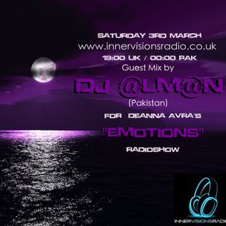 DJ @LMAN - Emotions (Guest Mix)  3-March- 2012  on Innervisions Radio UK