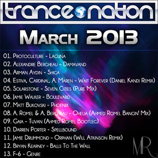Trance Nation Compilation : March 2013