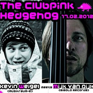 001 The Clubpink Hedgehog- Kevin Weigel meets MIJK VAN DIJK