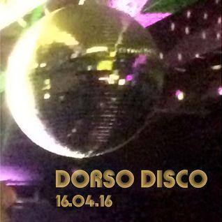 Dorso Disco -16.04.16
