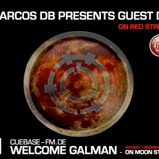 MOON STREAM. (Set one) - CUEBASE-FM (Red stream) / GUEST Dj GALMAN (With Marcos Db)