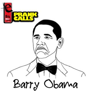 Barry Obama - E FM Prank Call