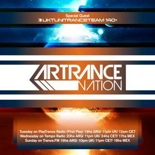 ArZen pres. Artrance Nation Ep 33 UkTuniTranceTeam Guest Mix