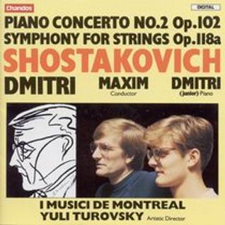 Piano Concerto No2 in F major Op. 102