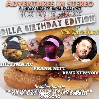 ADVENTURES IN STEREO w/ RHETTMATIC, DAVE N.Y. & FRANK NITT