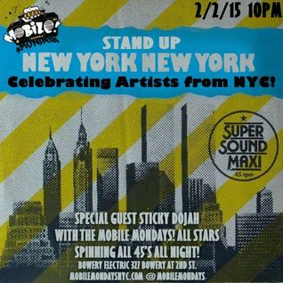 Live at Mobile Mondays Feb 2nd 2015 (New York Artists Edition)