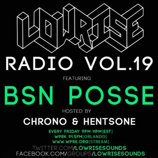 LowRIse Radio #19 BSN POSSE