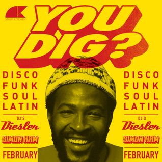 You Dig? Podcast 02/2015 - Compiled By Simon Ham & Diesler