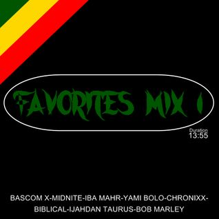 Mix 1Favorites Mix feat Bascom x, Midnite, Iba Mahr, Yami Bolo, Chronixx, Biblical, Ijahdan Taurus