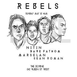 REBELS- with NITIN / SEAN ROMAN / MARSELAN / BLUE GATES