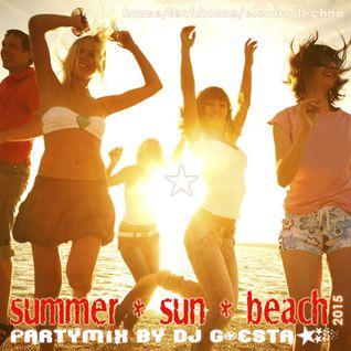 DJ Gösta - Summer Sun Beach Partymix 2015